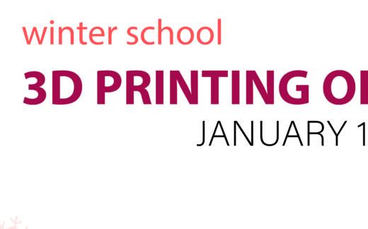 Escuela Invierno Impresión 3D de metales